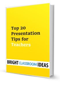 Great presentation tips for teachers
