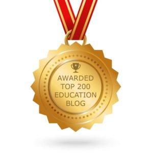 Awarded Top 200 Education Blog