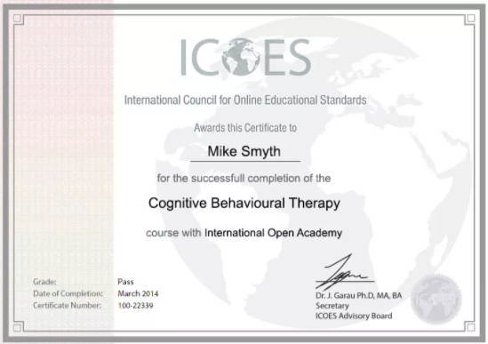 e-learning courses certificate